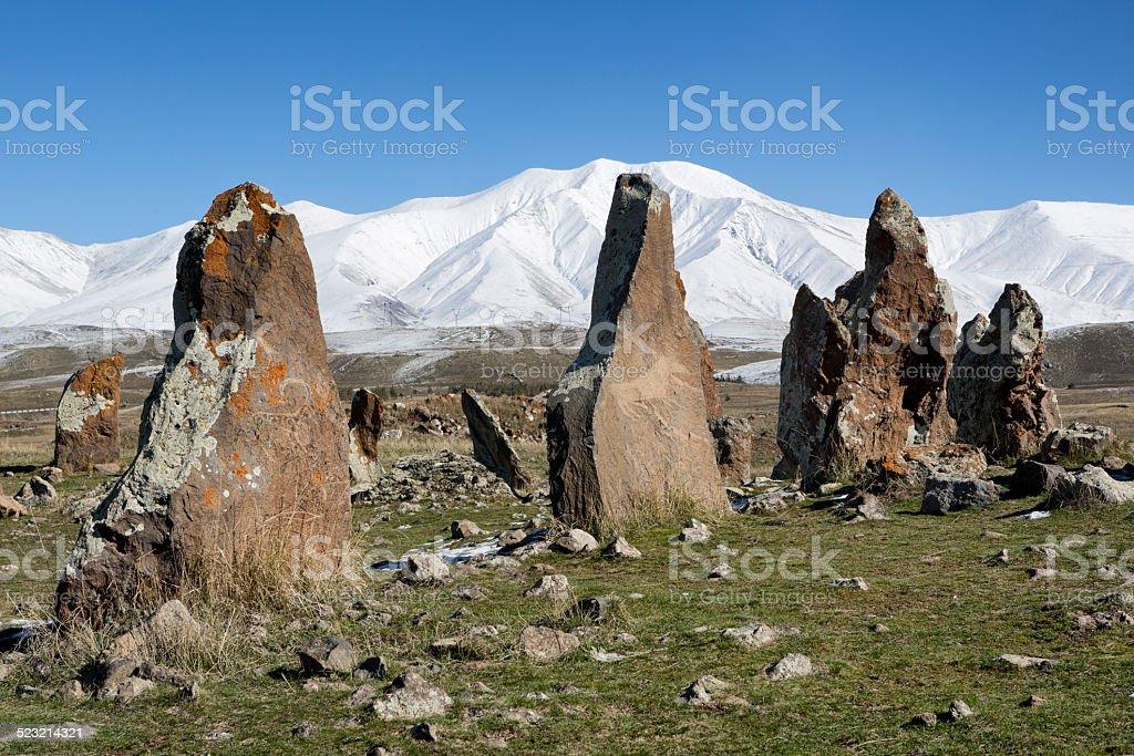 Zorats Karer, Armenia stock photo
