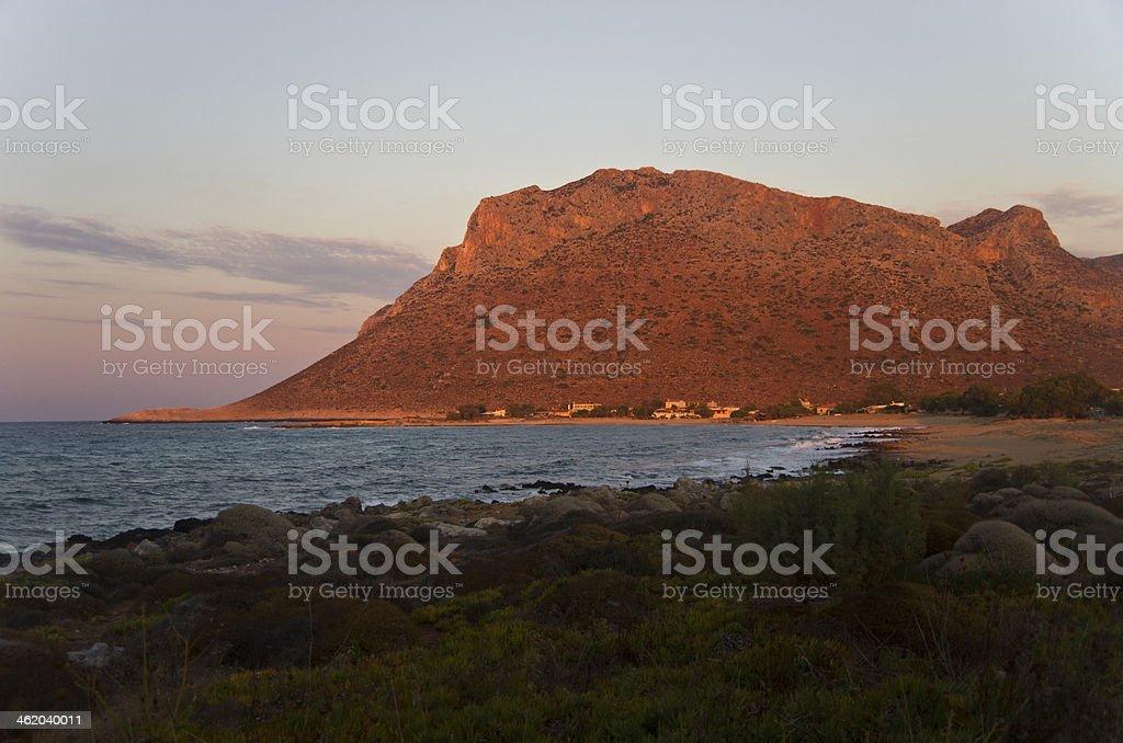 Zorbas beach stock photo