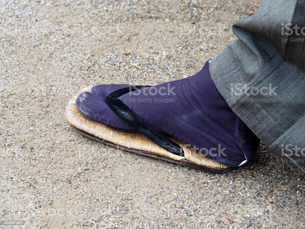 Zouri, Shoes For Kimono stock photo