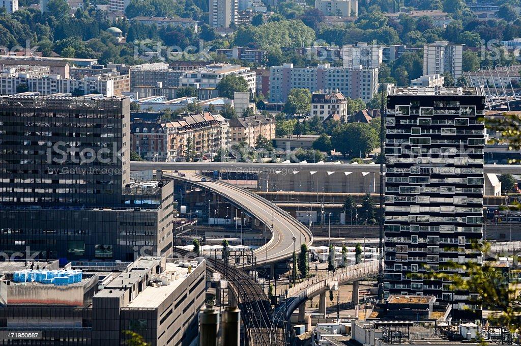 Zürich Stadtteil stock photo