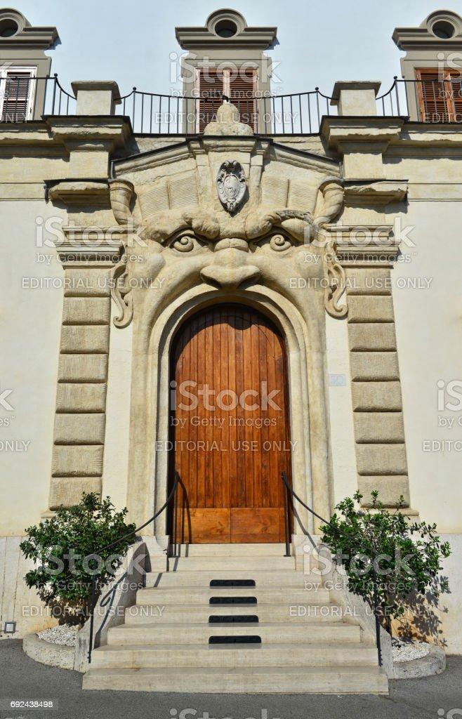 Zuccari Palace in Rome stock photo