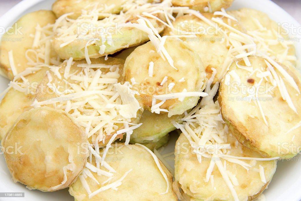 zucchini fries royalty-free stock photo
