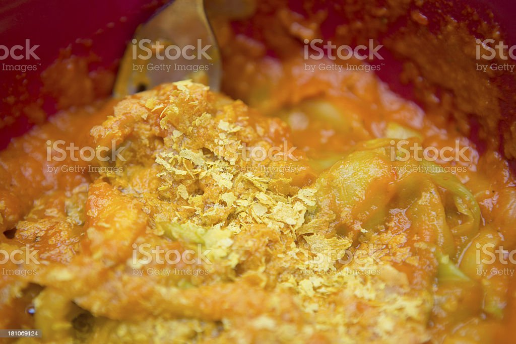 zucchini noodles stock photo