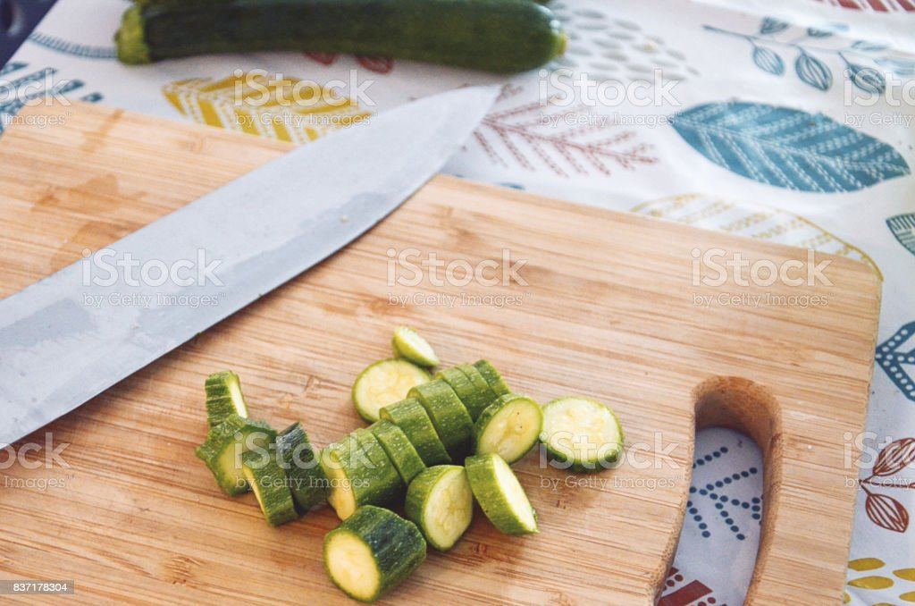 Zucchine stock photo