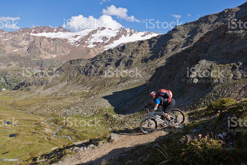 Zufall Downhill, South Tyrol stock photo