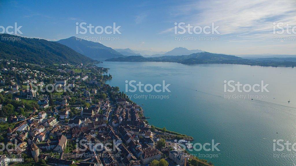 Zug, Switzerland stock photo