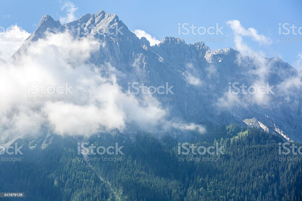 Zugspitze Alpine stock photo