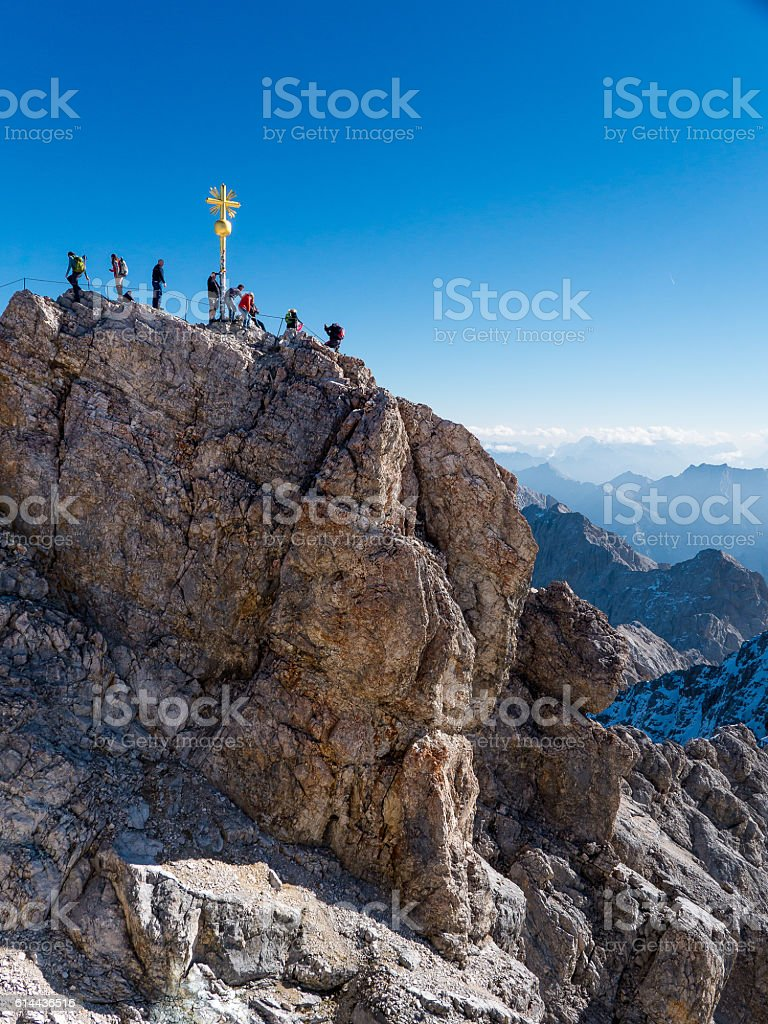 Zugspitze - Austria stock photo
