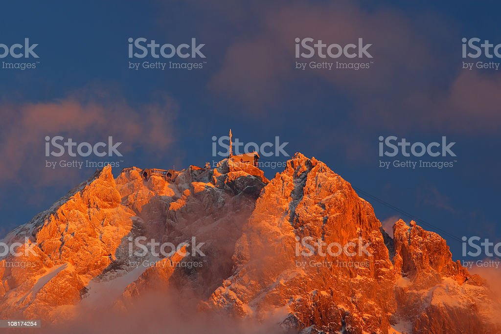 Zugspitze - Bavaria royalty-free stock photo