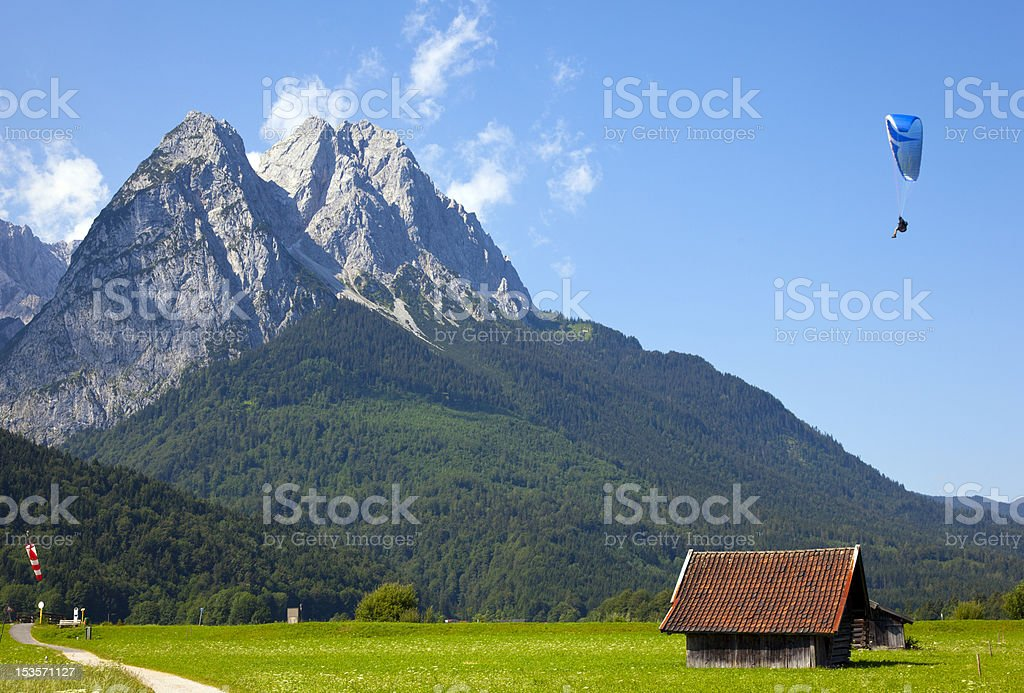 zugspitze royalty-free stock photo