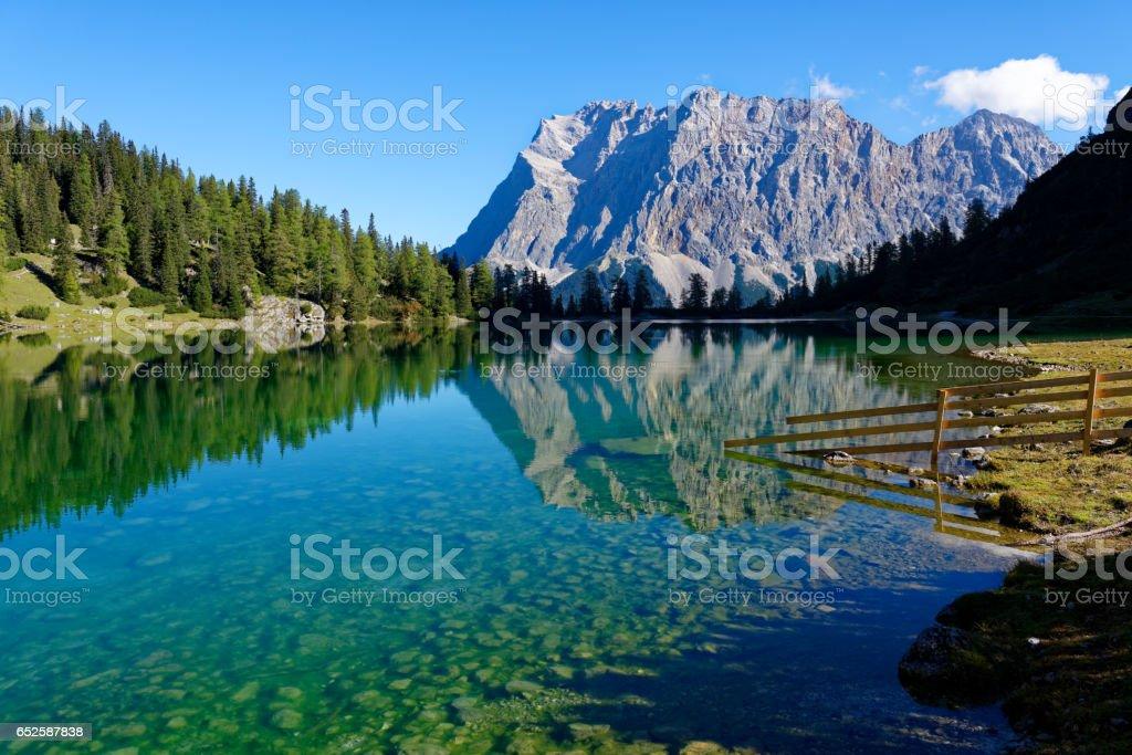 Zugspitze stock photo