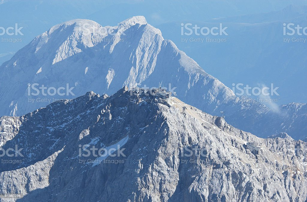 Zugspitze stock photo
