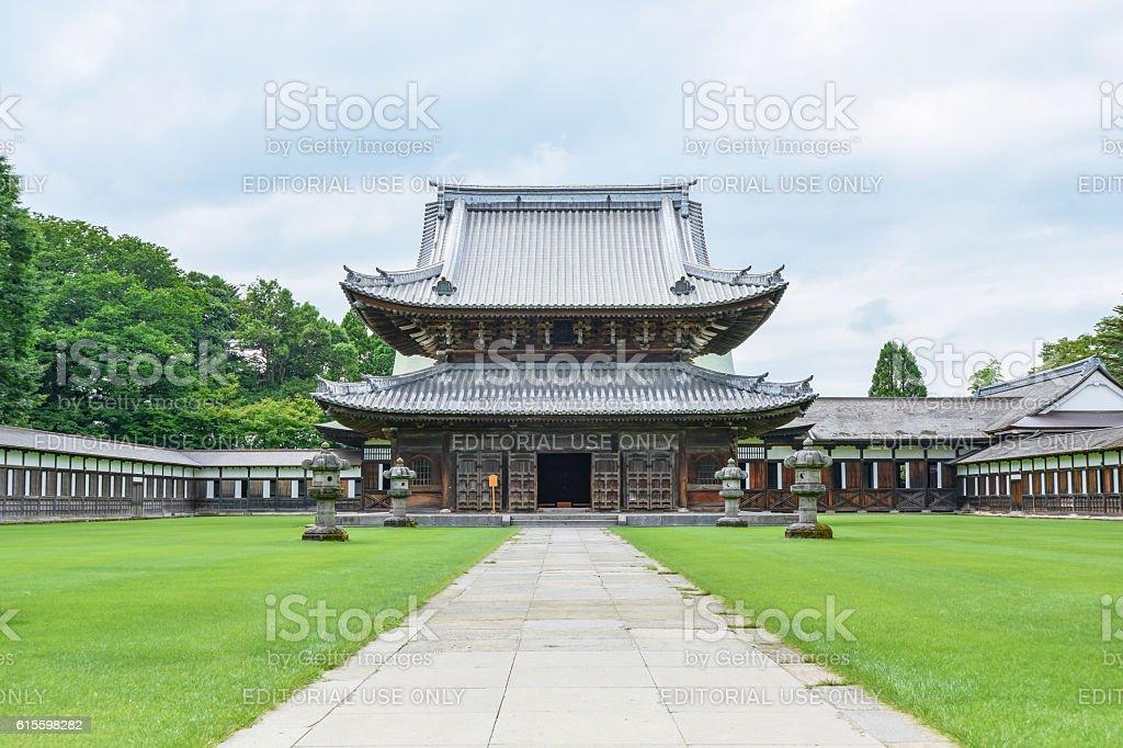 Zuiryuji Temple stock photo
