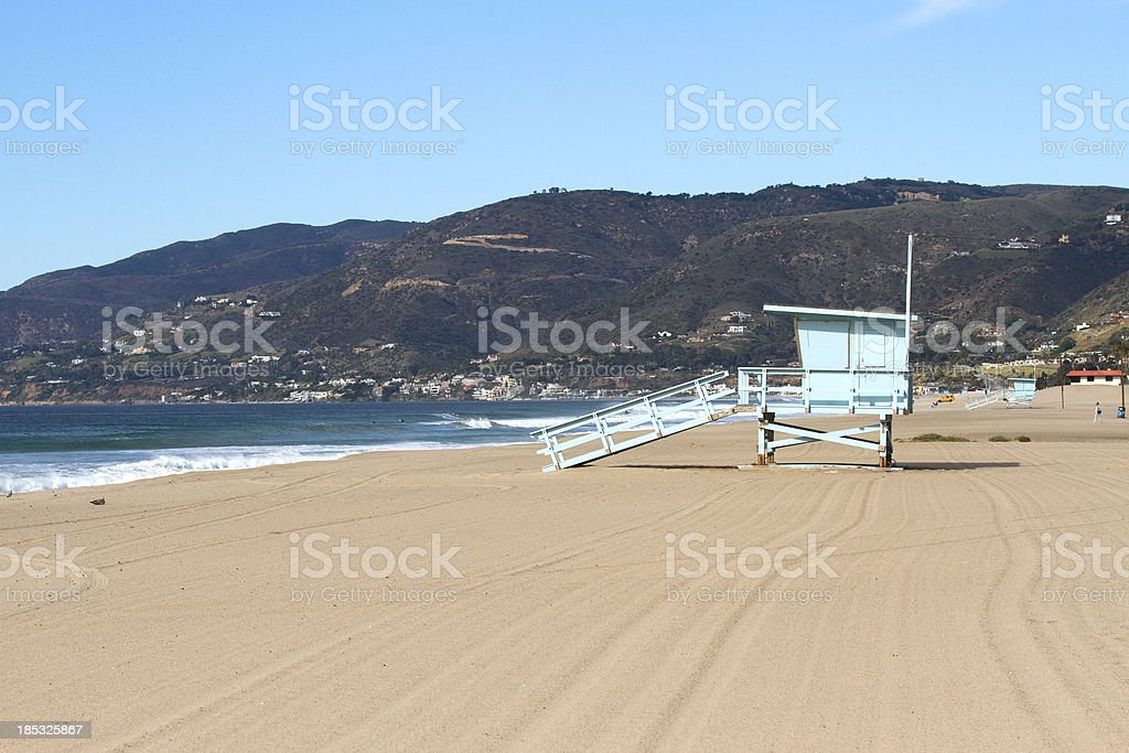 Zuma Beach California royalty-free stock photo