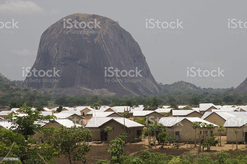 Zuma Rock stock photo