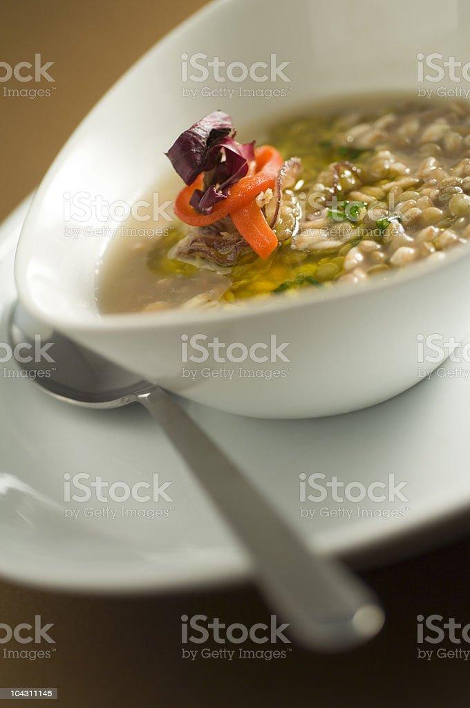 Zuppa di cereali photo libre de droits