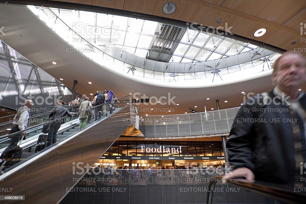 Zurich Airport royalty-free stock photo
