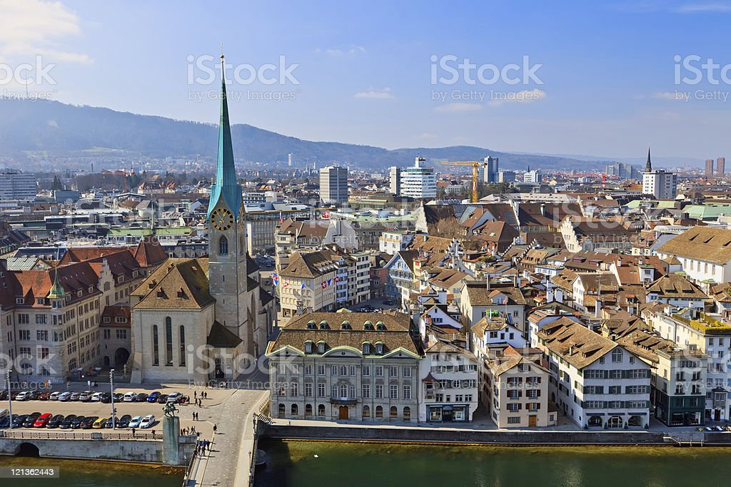 Zurich royalty-free stock photo