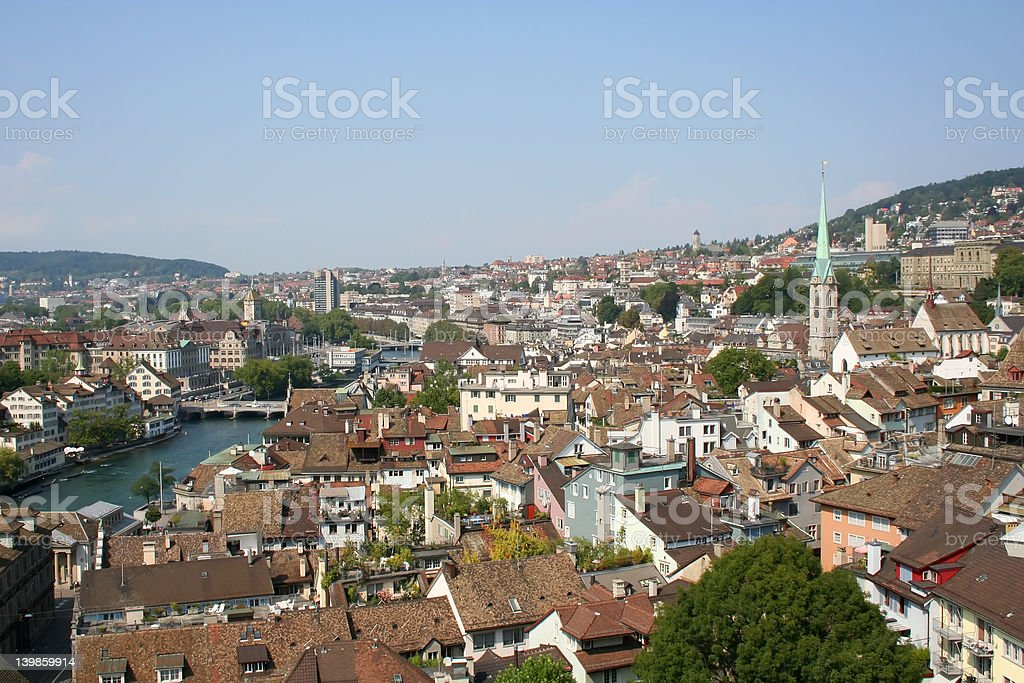 Zurich royalty-free stock photo
