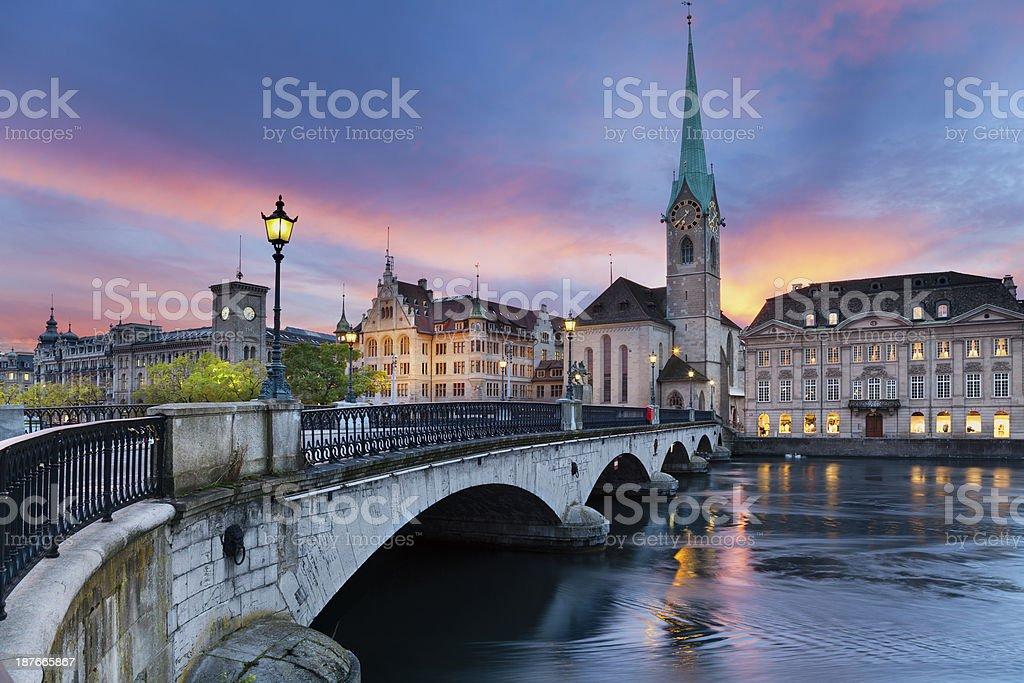Zurich. stock photo