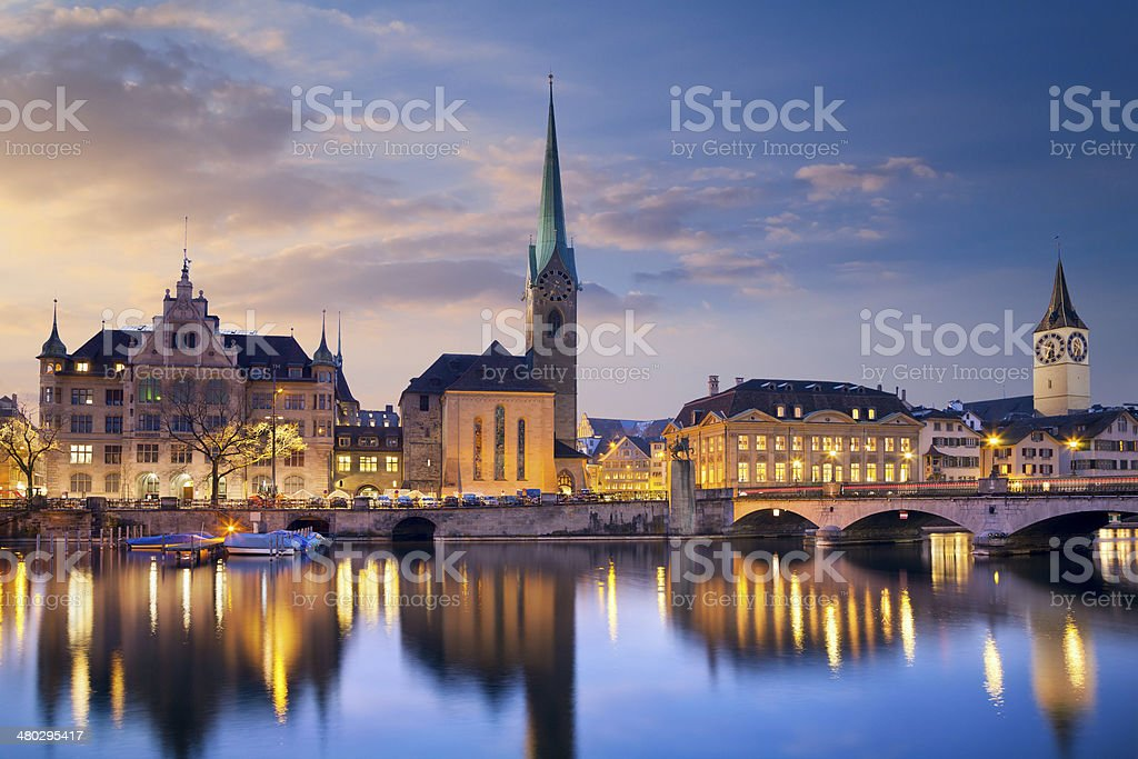 Zurich. stock photo