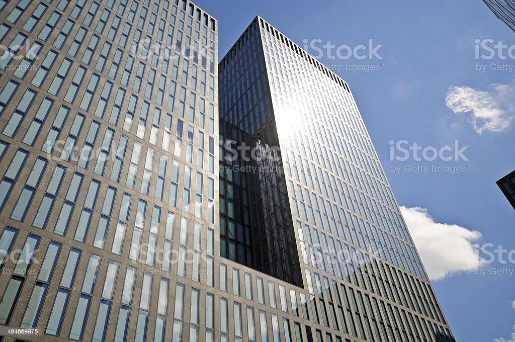 Zurich Skyscraper royalty-free stock photo