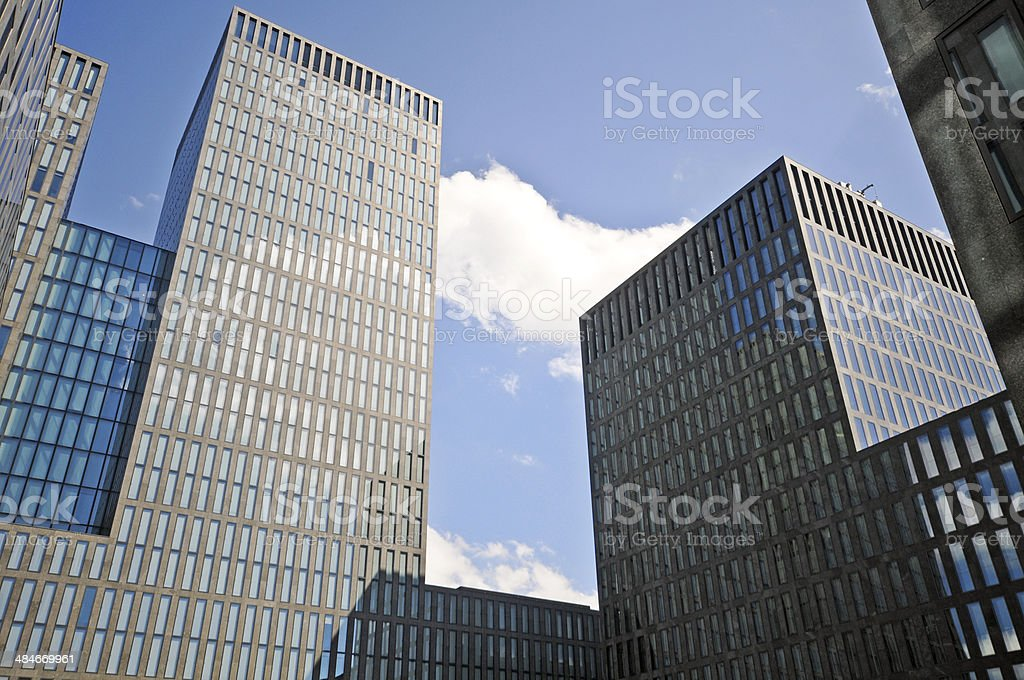 Zurich Skyscrapers royalty-free stock photo