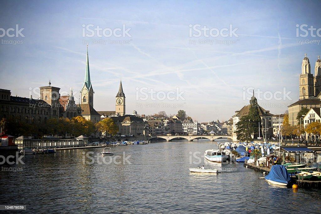 Zurich Switzerland royalty-free stock photo
