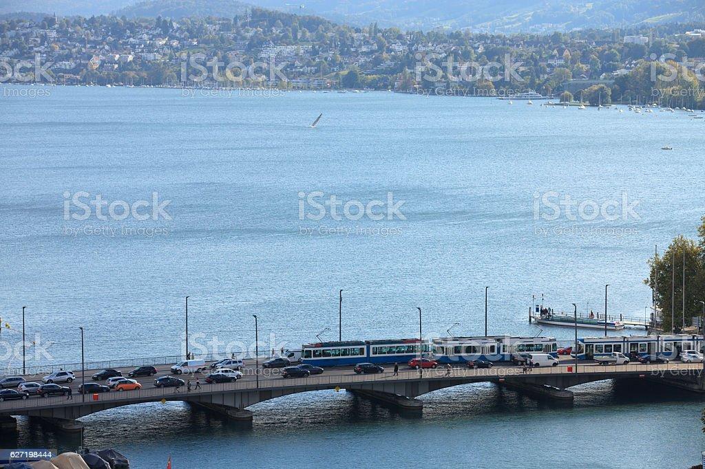 Zurichsee stock photo