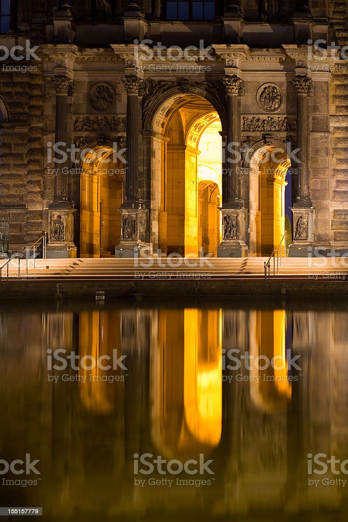 Zwinger Dresden, Germany stock photo