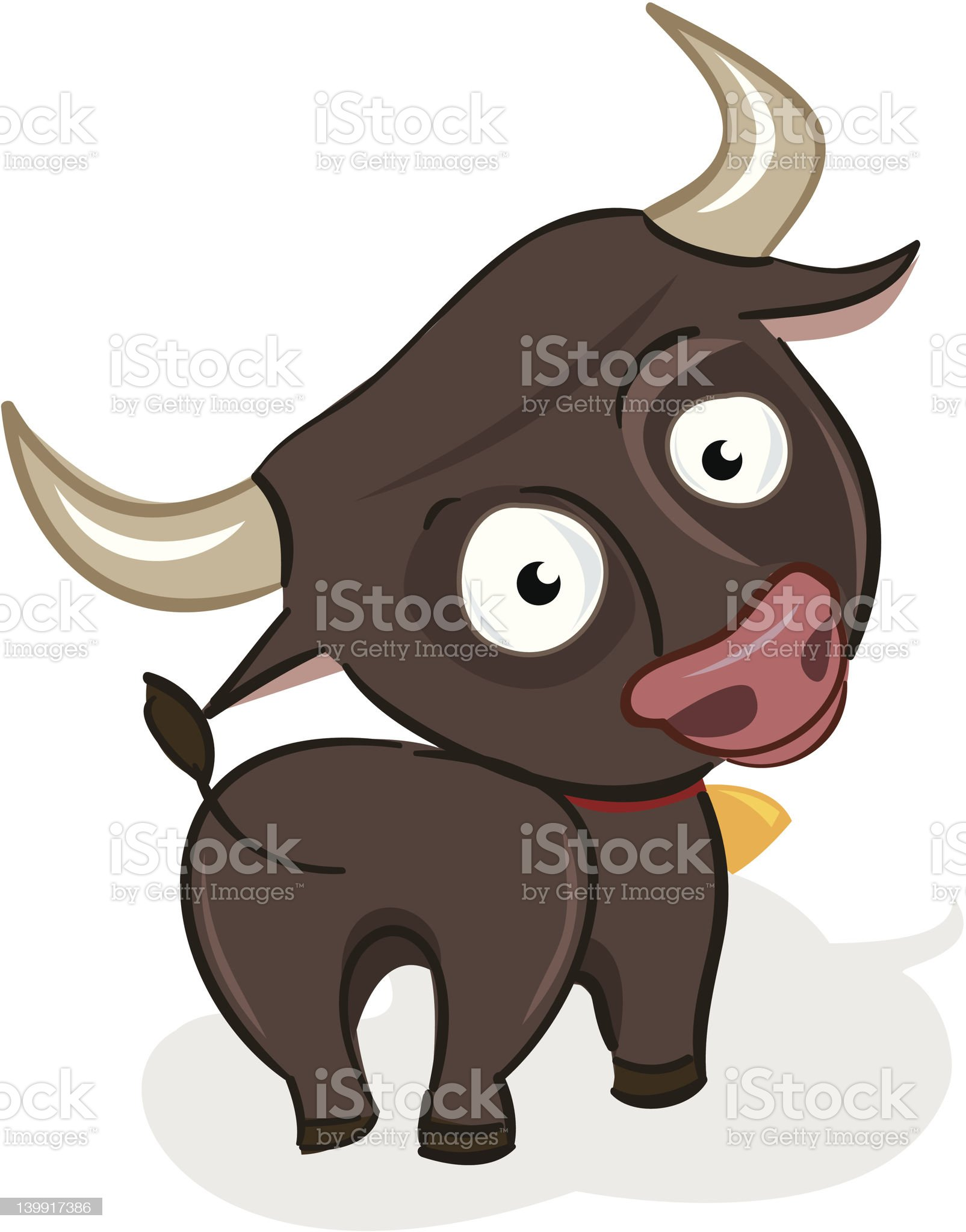 OX royalty-free stock vector art