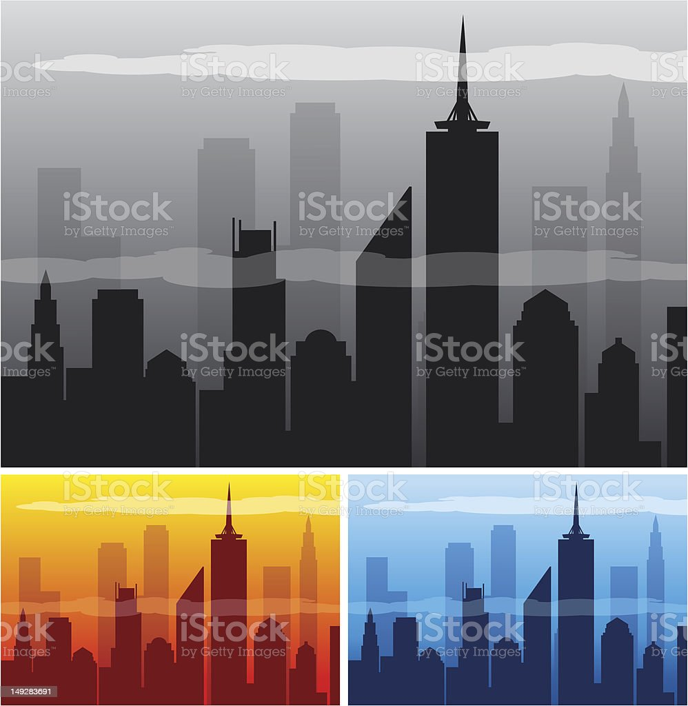 NY vector art illustration