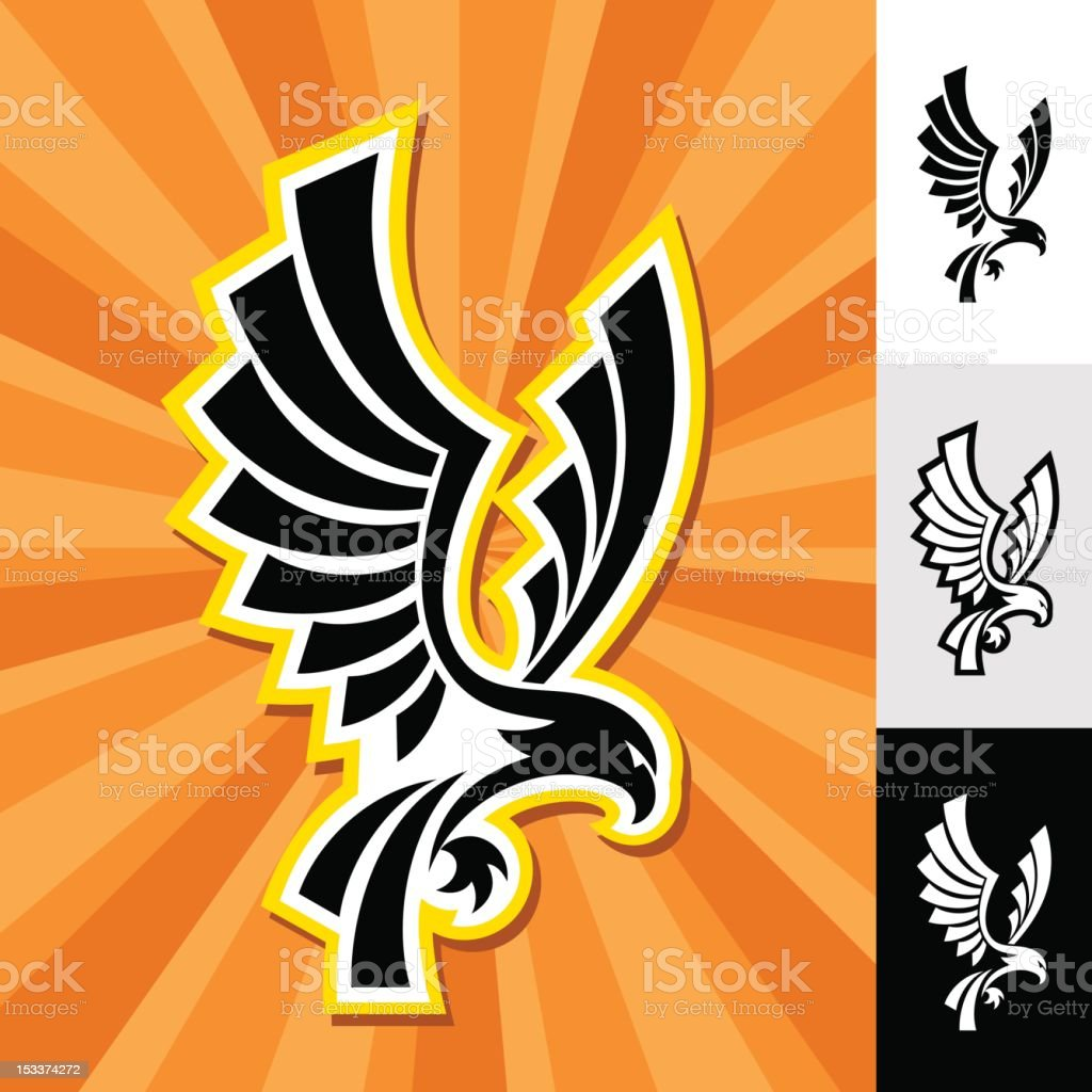 EAGLE EMBLEM royalty-free stock photo