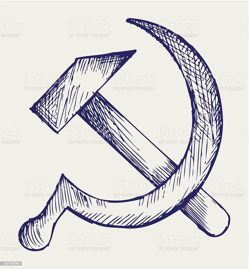 SSSR vector art illustration