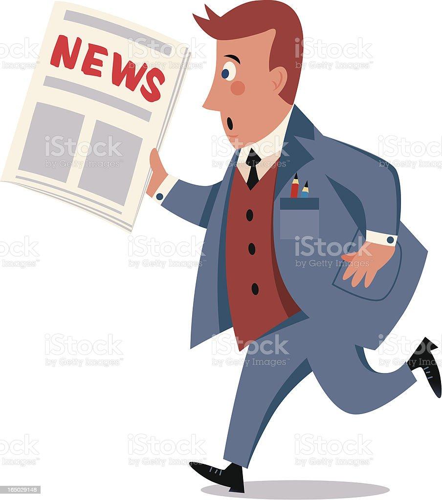 NEWS royalty-free stock vector art