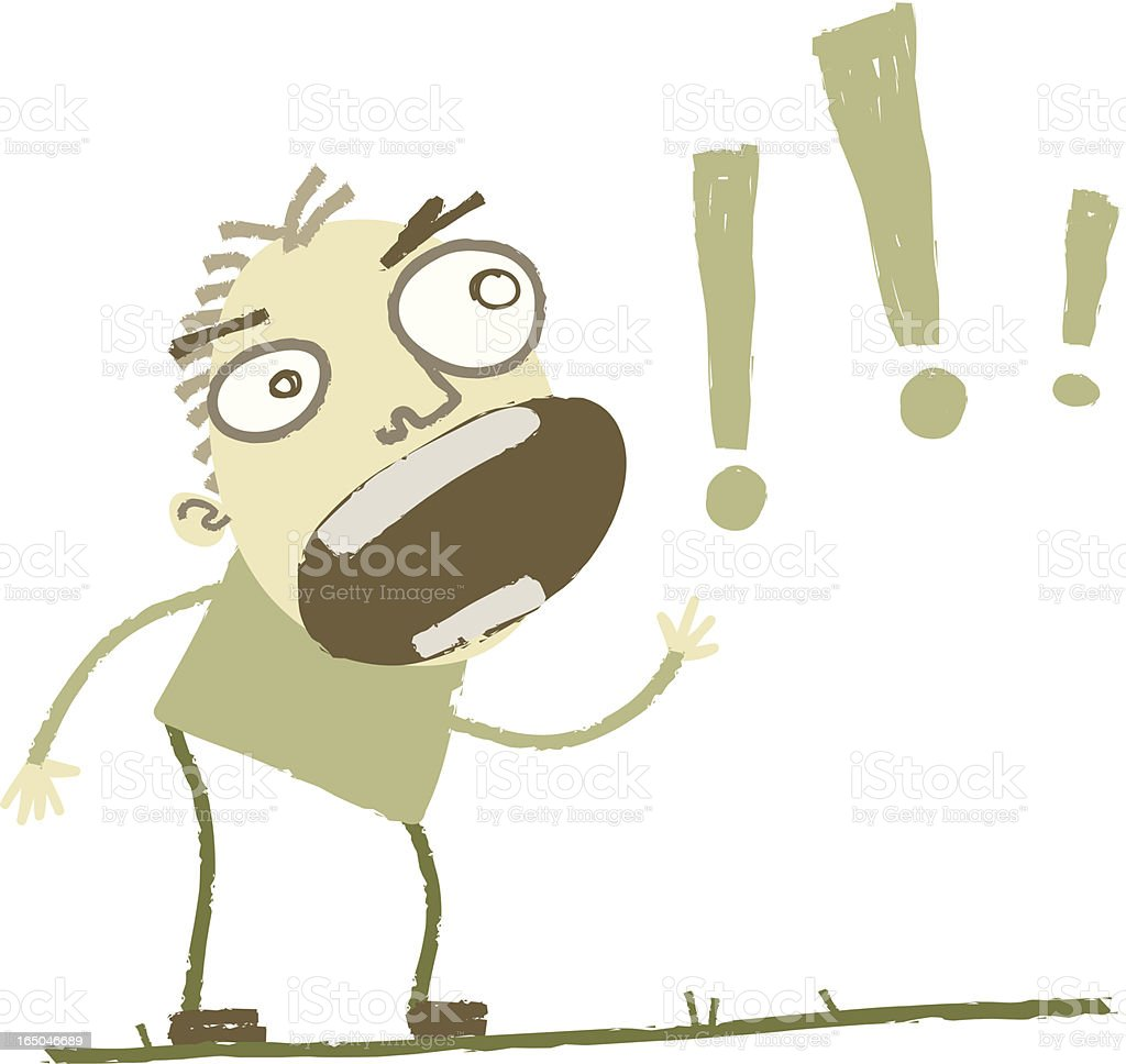 SHOUT! royalty-free stock vector art