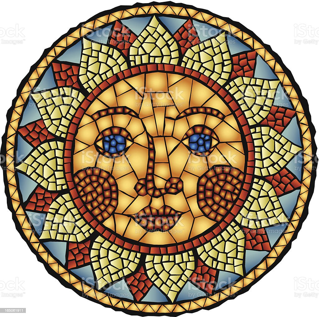 SOL vector art illustration