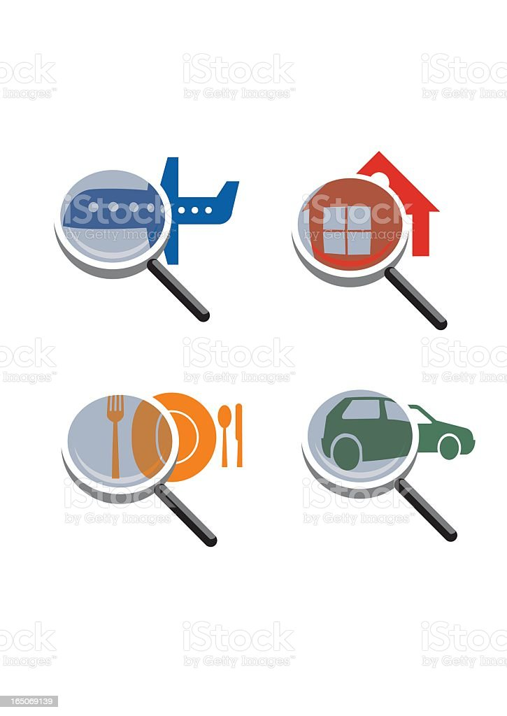 SEARCH=FIND royalty-free stock vector art
