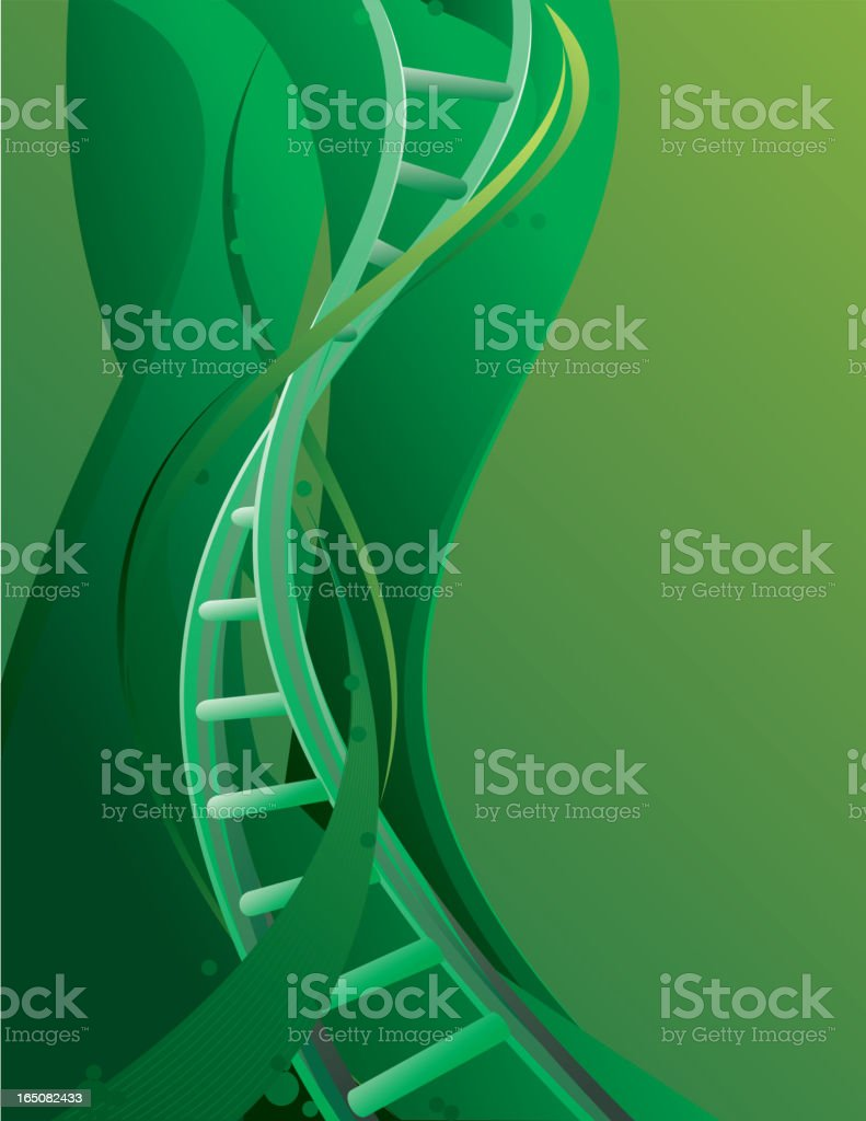 DNA royalty-free stock vector art