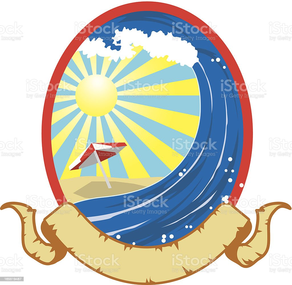 SUMMER TIME FUN royalty-free stock vector art