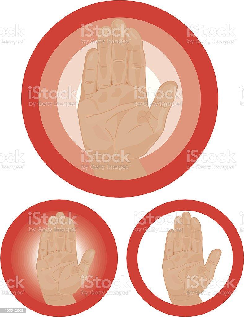 STOP!!! royalty-free stock vector art