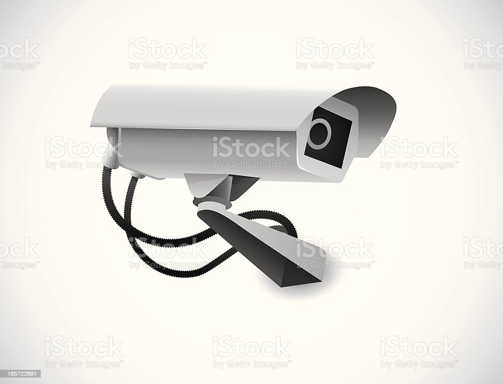 CCTV royalty-free stock vector art