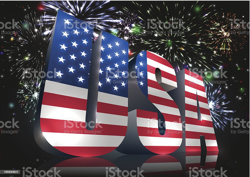USA royalty-free stock vector art