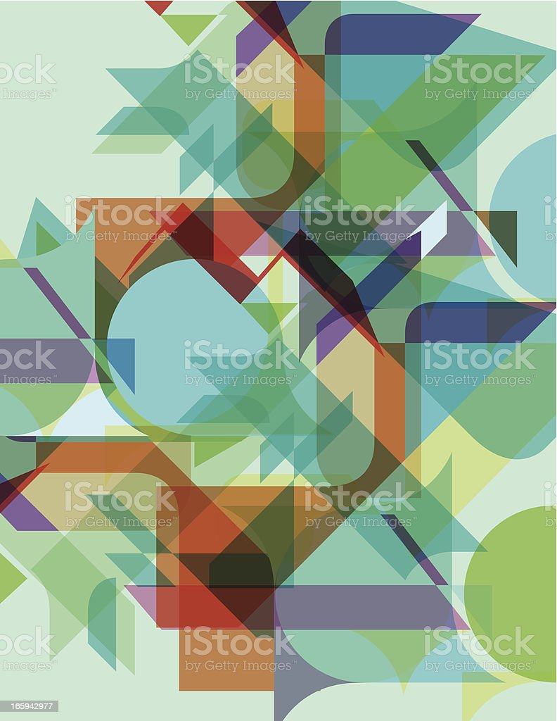 FUTURE BACKGROUND TRANSPARENT royalty-free stock vector art