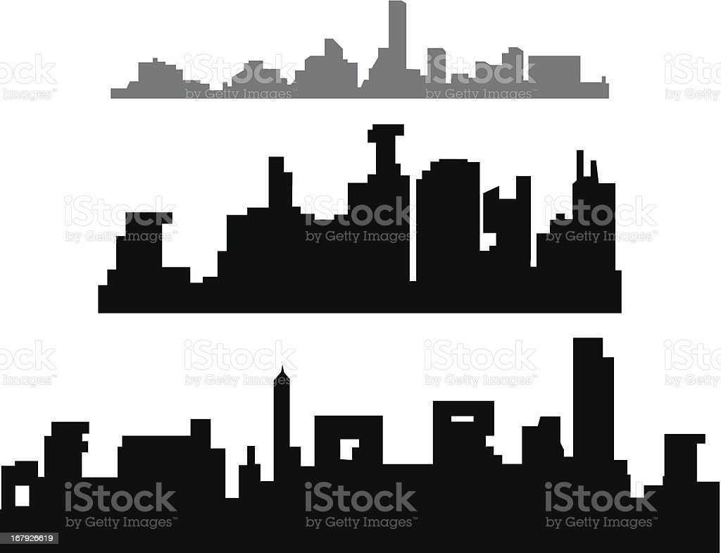 CITY OF WORDS royalty-free stock vector art