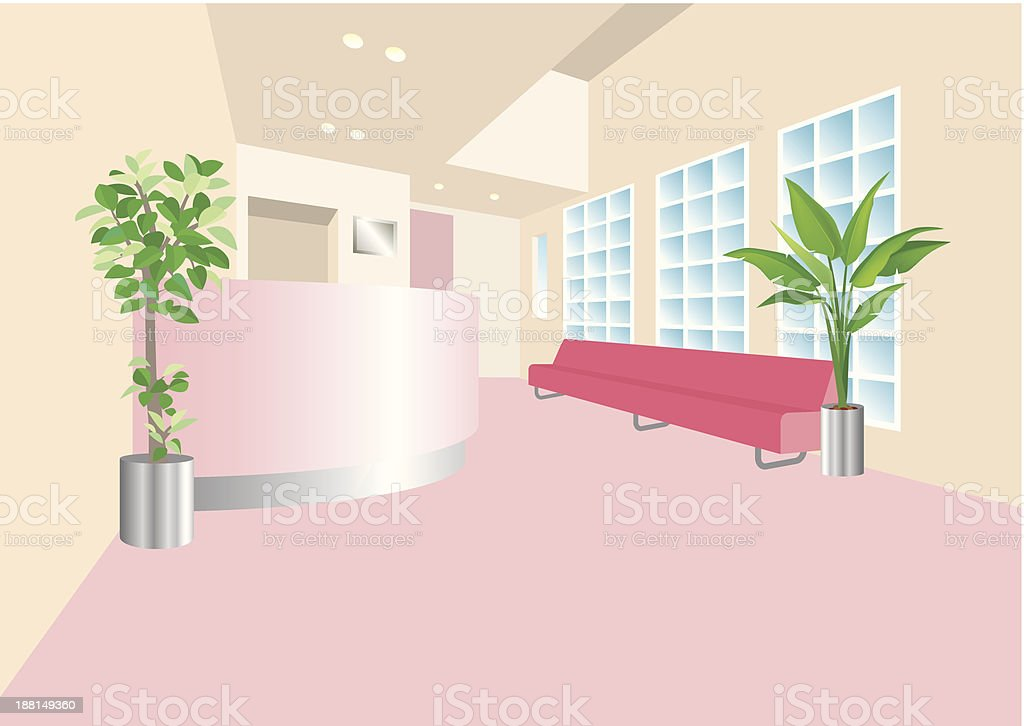 CLINIC vector art illustration