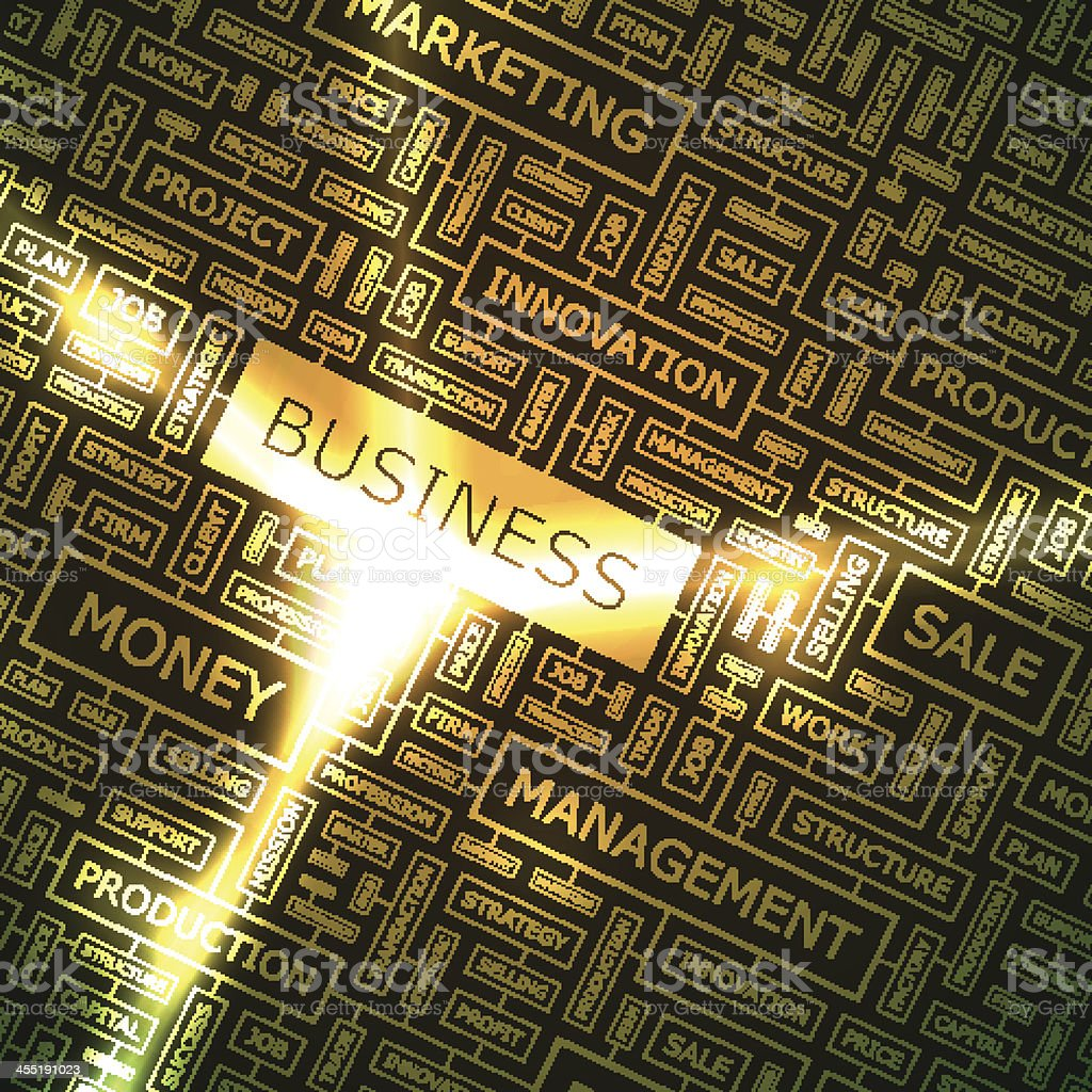 BUSINESS vector art illustration