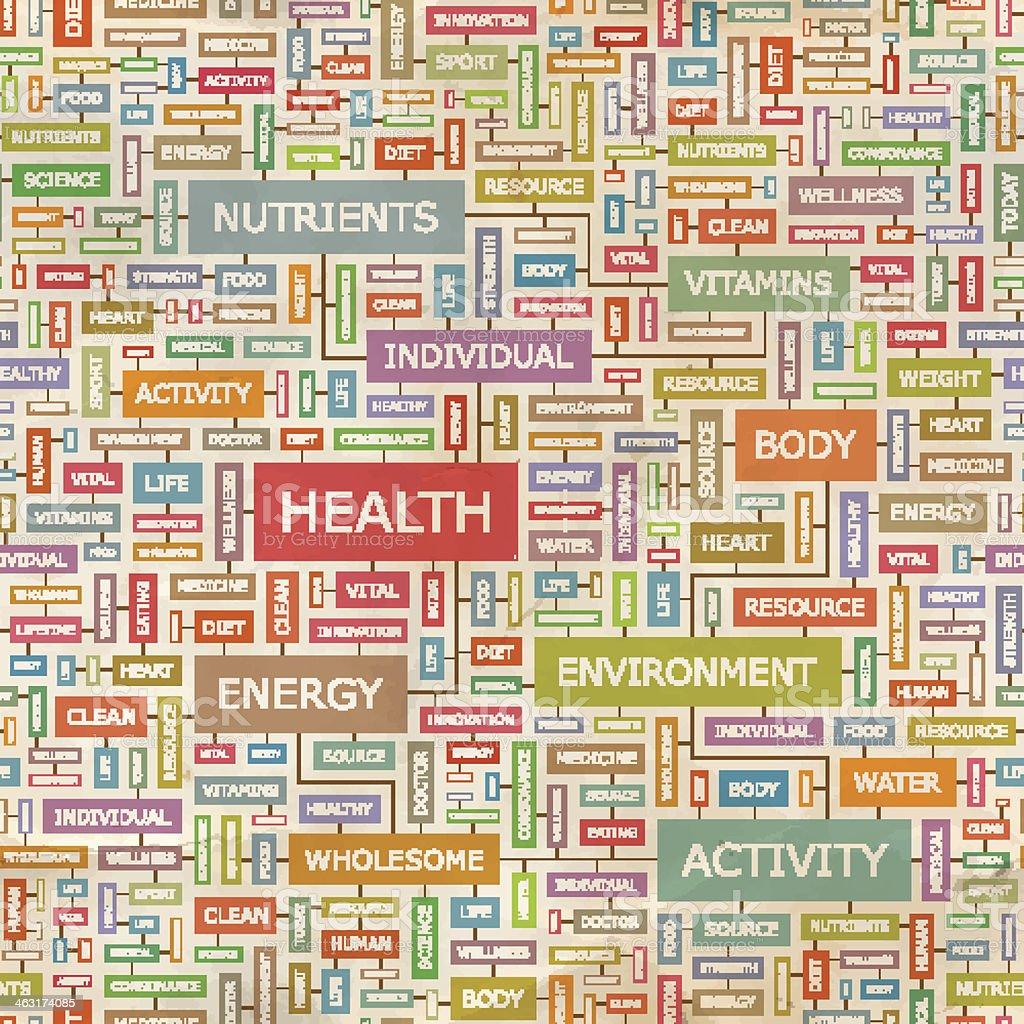 HEALTH royalty-free stock vector art