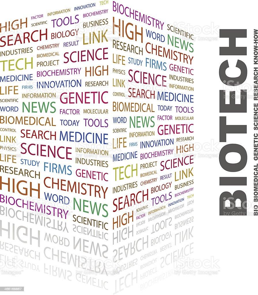 BIOTECH. royalty-free stock vector art
