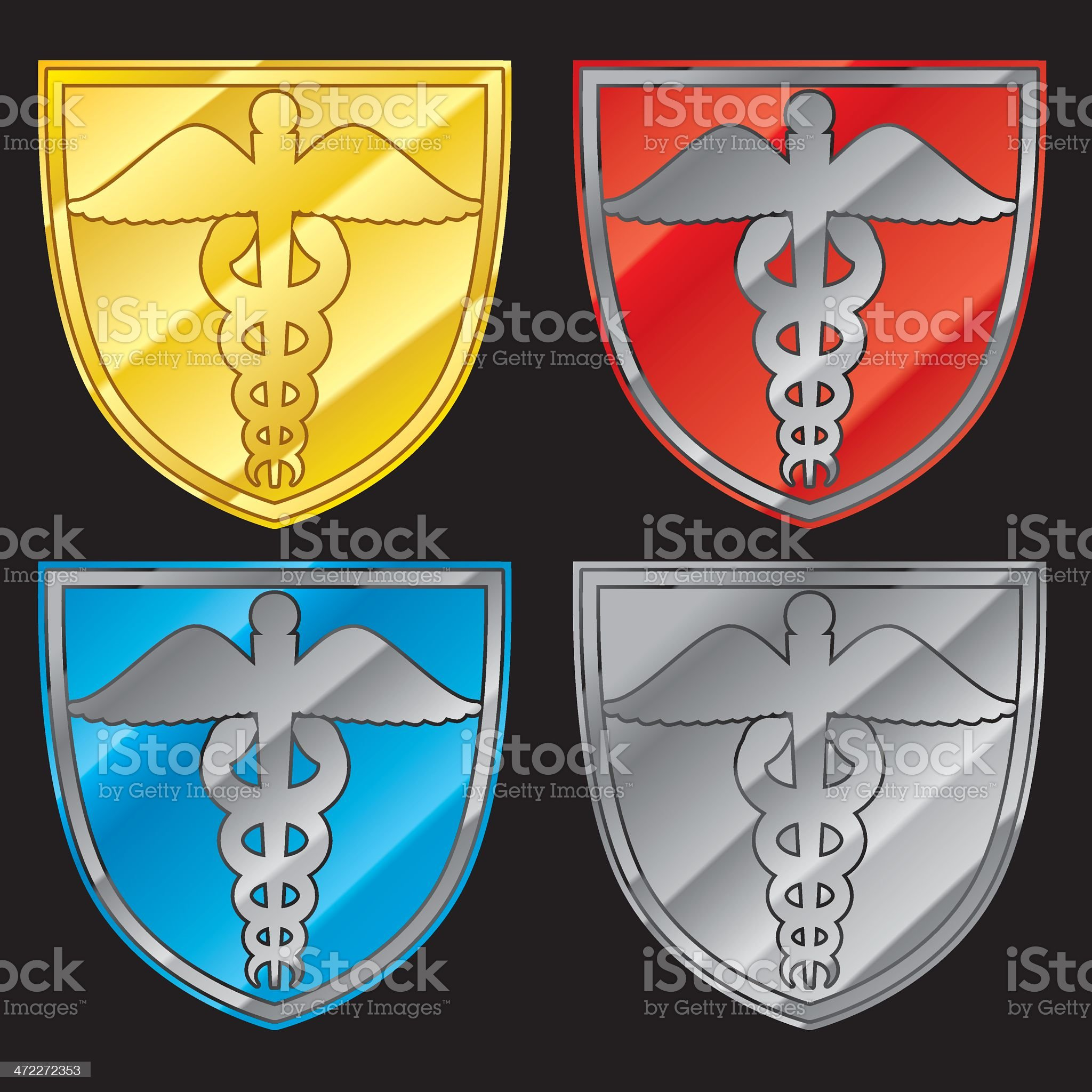 DOCTOR BLING royalty-free stock vector art